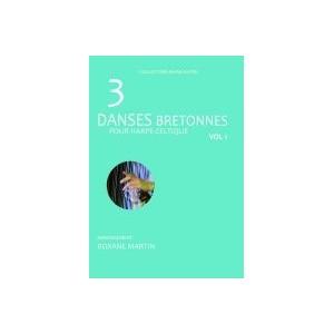 3 danses bretonnes pour harpe celtique